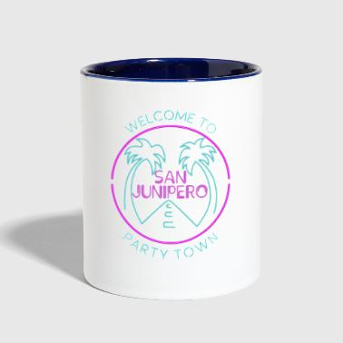 san junipero - Contrast Coffee Mug
