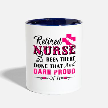 Retired Retired Nurse Mug - Contrast Coffee Mug