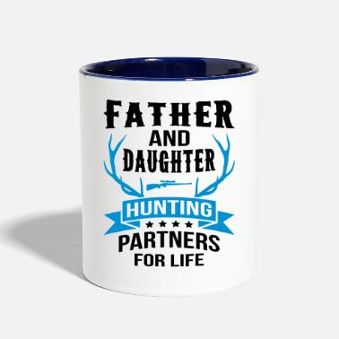 Father And Daughter Father And Daughter Hunting Partners - Contrast Coffee Mug