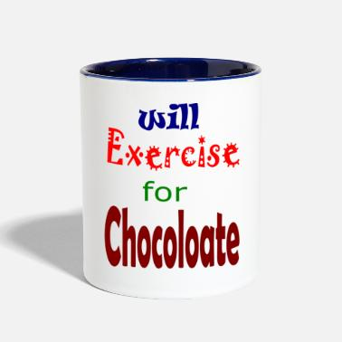 Exercise exercise - Contrast Coffee Mug