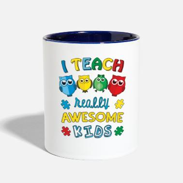 Autism Awareness Autism Teacher Autism Awareness - Contrast Coffee Mug