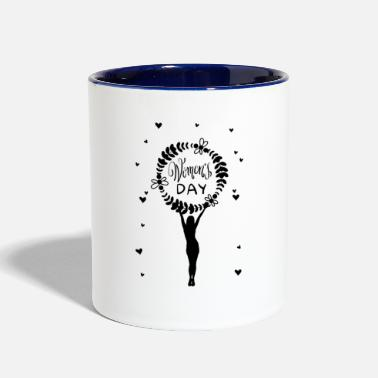 Womens Day womens day - Two-Tone Mug