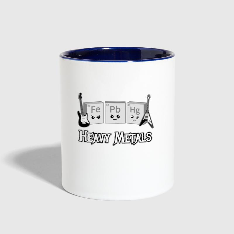 Heavy Metals Periodic Table Of Elements Contrast Coffee Mug
