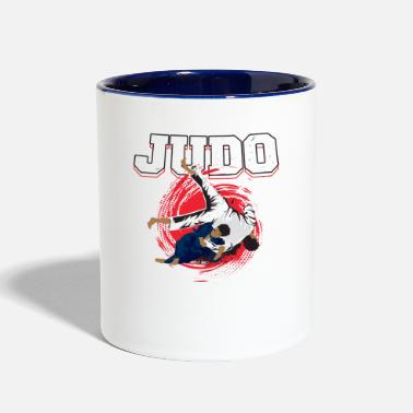 Judo Judo Martial Arts - Two-Tone Mug