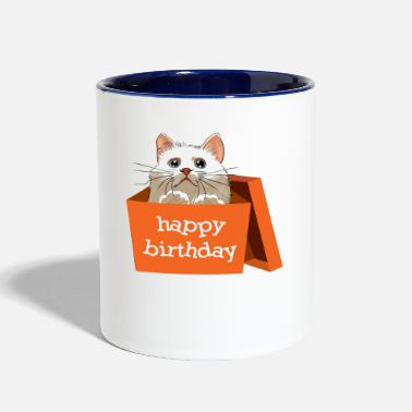 Happy Birthday happy birthday - Contrast Coffee Mug