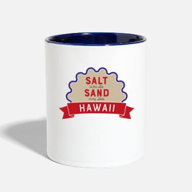 Hawaii hawaii - Contrast Coffee Mug