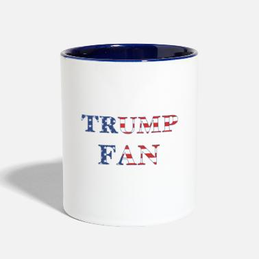 Fan Trump Fan - Two-Tone Mug