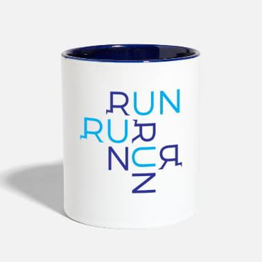 Running Run Run Run - Contrast Coffee Mug
