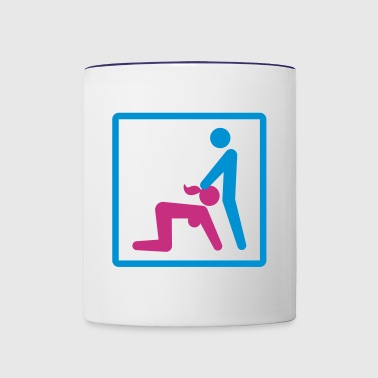 Kamasutra - Blow Job - Contrast Coffee Mug