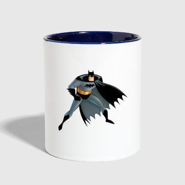 Batman Cartoon Character - Contrast Coffee Mug