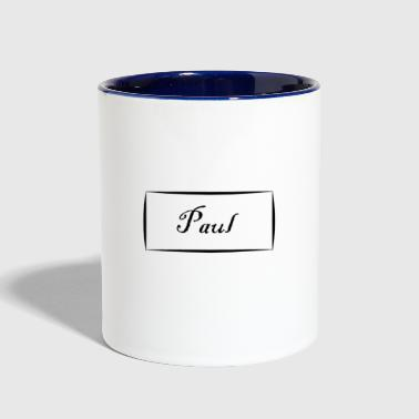 Paul - Contrast Coffee Mug