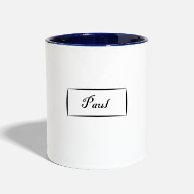 Paul Paul - Contrast Coffee Mug