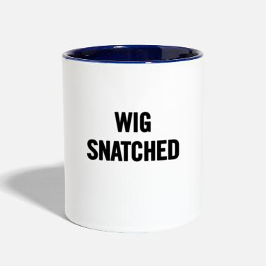 Snatch Wig Snatched Black - Contrast Coffee Mug