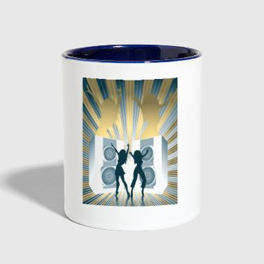 Loud Loud Speakers - Contrast Coffee Mug