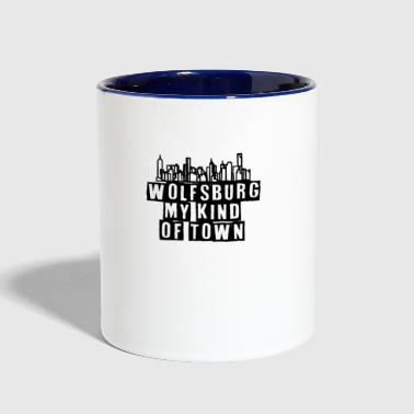 My Kind of Town Wolfsburg - Contrast Coffee Mug