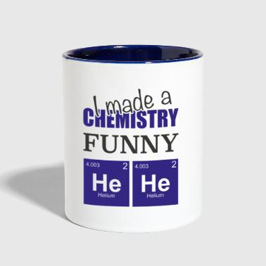 Chemistry Joke Gift for science student - Contrast Coffee Mug