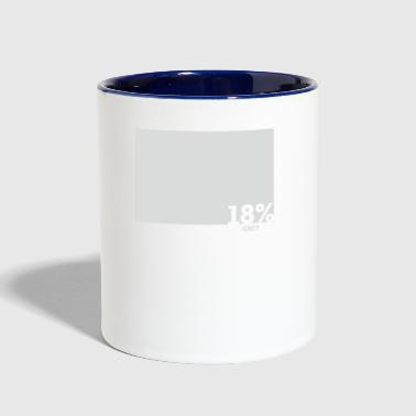 Grey - Contrast Coffee Mug