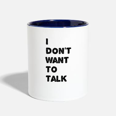Text text - Contrast Coffee Mug