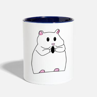 Rodent Hamster animal rodent gift - Contrast Coffee Mug