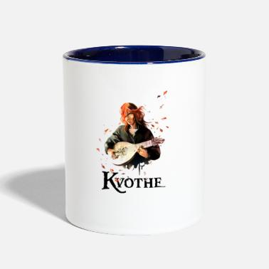 Ademre Red boy lute. - Two-Tone Mug