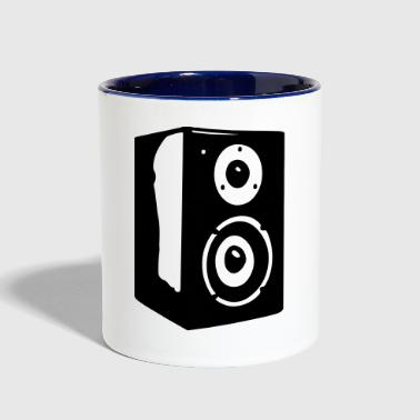 Speaker Vector - Contrast Coffee Mug