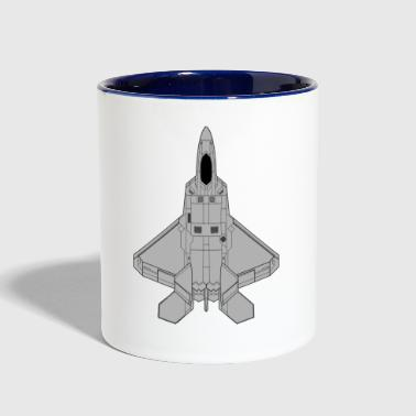 Jet Fighter Fighter jet - Contrast Coffee Mug