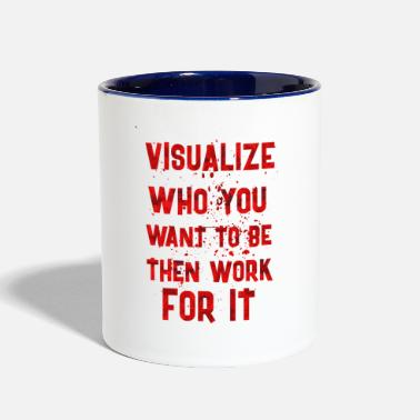 Visualization Visualize who - Contrast Coffee Mug