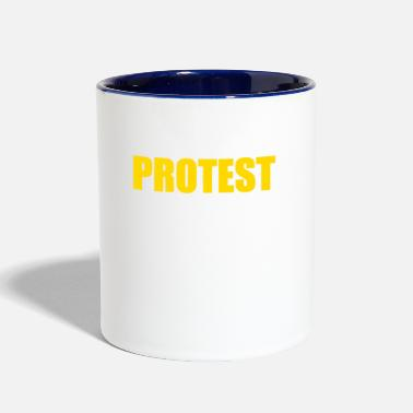 Protestant PROTEST - Contrast Coffee Mug
