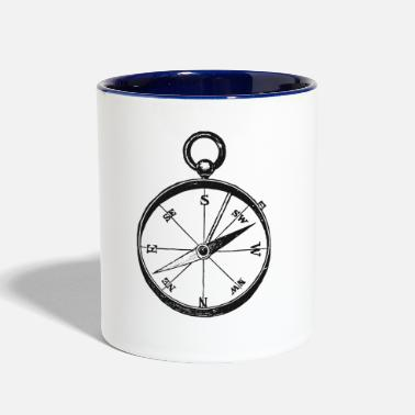 Ancient Ancient Compass - Contrast Coffee Mug
