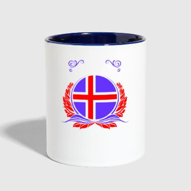 This Is Iceland - Contrast Coffee Mug