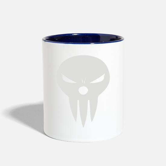 Game Mugs & Drinkware - Shinigami soul eater - Two-Tone Mug white/cobalt blue