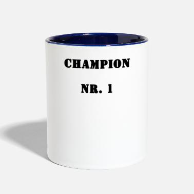 Record Champion Champion No. 1 - Two-Tone Mug