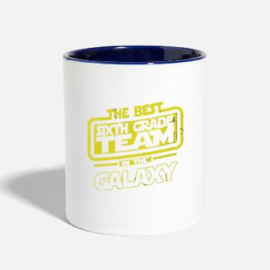 The Best 6 Sixth Grade Team In The Galaxy - Two-Tone Mug