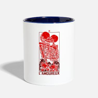 Graphic Art The Lovers Graphic ART - Two-Tone Mug