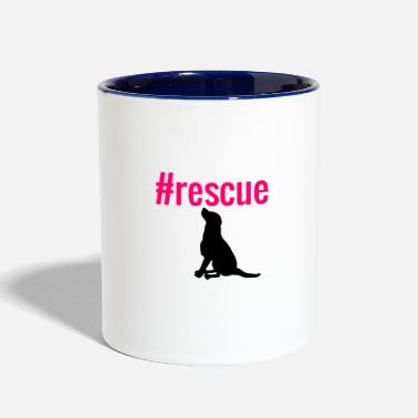 Rescue Dog rescue dog - Contrast Coffee Mug