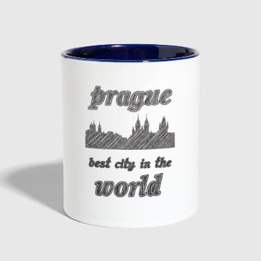 Prague Best city in the world - Contrast Coffee Mug