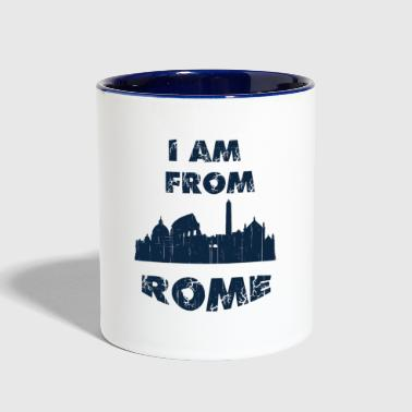 Rome I am from - Contrast Coffee Mug