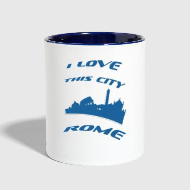 Rome I love this city - Contrast Coffee Mug