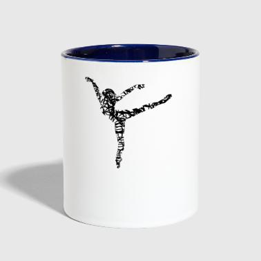 dancer - Contrast Coffee Mug