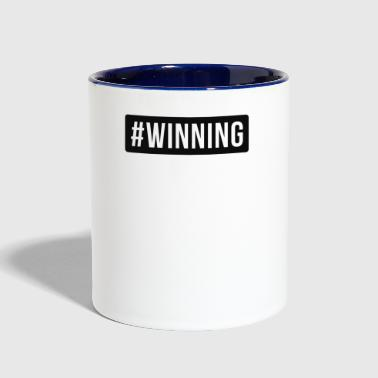 Win WINNING - Contrast Coffee Mug