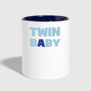 twins - Contrast Coffee Mug