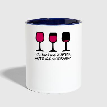 wine - Contrast Coffee Mug