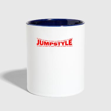 Jumpstyle LOVE TECHNO GESCHENK goa pbm JUMPSTYLE speed - Contrast Coffee Mug