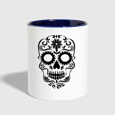 Sugar Skull - Contrast Coffee Mug