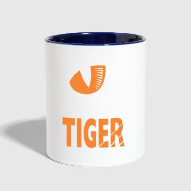 Bright Tiger - Contrast Coffee Mug