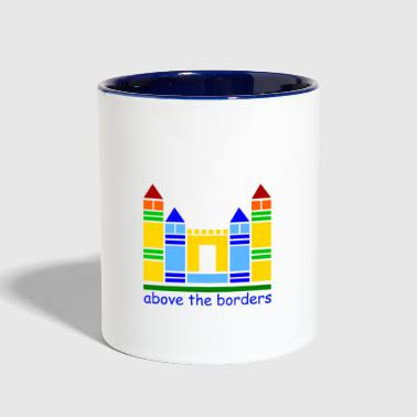 childhood castle - Contrast Coffee Mug