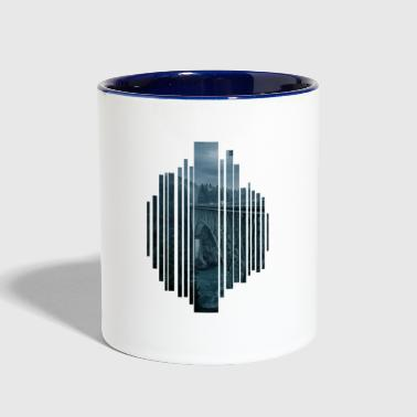 Bridge in the evening - Contrast Coffee Mug