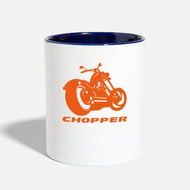 Chopper Chopper - Two-Tone Mug