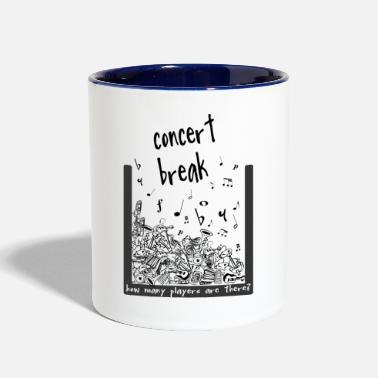 Concert concert break - Contrast Coffee Mug