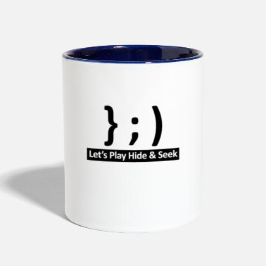 Android Let's play Hide and Seek - Two-Tone Mug